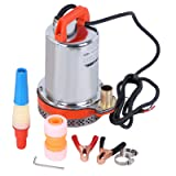 BOKYWOX DC 24V Submersible Water Pump Solar Water Pump,Stainless Steel Submersible Well Pump(BW-12-24DC) (Color: Orange, Tamaño: DC 24V,135W,Orange-C)
