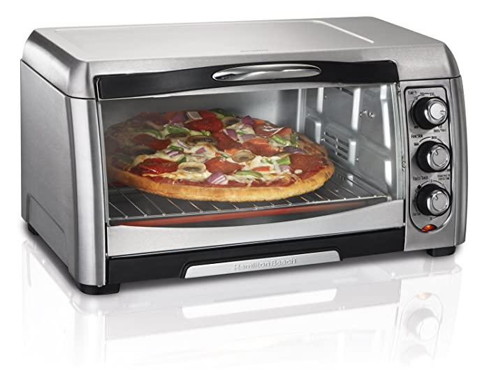 Hamilton Beach 31333 Convection Toaster Oven, Stainless Steel Via Amazon