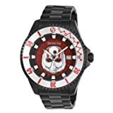 Invicta Men's 'Marvel' Automatic Stainless Steel Watch, Color:Black (Model: 27781)