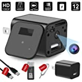 Hidepoo 1080P HD USB Hidden Camera Wall Charger Adapter- With Motion Detection, Mini Video Recorder For Home/Office Surveillance,Support 32GB Internal Memory