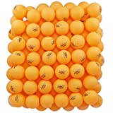 MAPOL 100 Counts 3-Star Orange Practice Ping Pong Balls Advanced Table Tennis Balls (Color: Orange, Tamaño: 40MM)