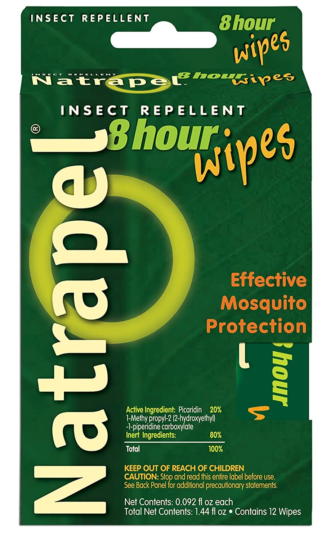 Natrapel, 8 Hour deet free repellent