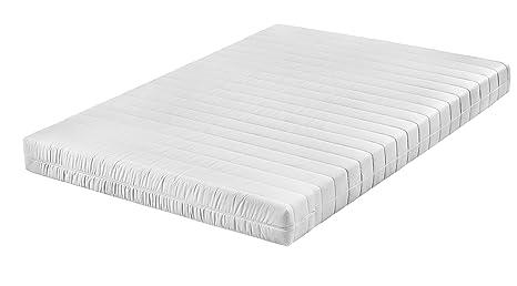 Traumnacht 03892440154 T9 9-Zonen Tonnentaschenfederkern-Matratze Polyester 200 x 200 x 17 cm, weiß