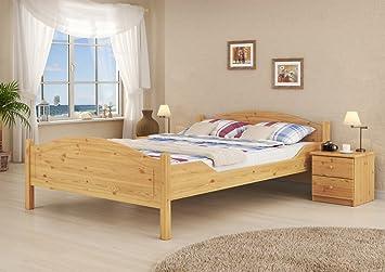 60, 30-09 M K0 letto 90 x 200 in pino mass. Con roll ruggine, materasso + notte nischenmarkt