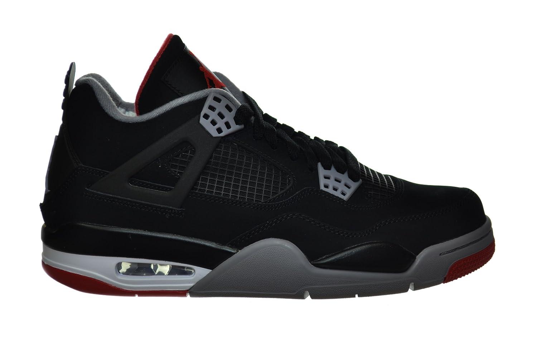 Air Jordan 4 Retro \\u0026quot;Bred\\u0026quot; Men\\u0026#39