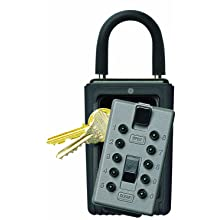 Kidde AccessPoint 001166 KeySafe Original 3-Key Portable, Titanium Gray