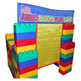 99pc Playhouse Jumbo Blocks- Playland  (Made in the USA)