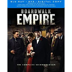 Boardwalk Empire: The Complete Second Season (Blu-ray/DVD Combo + Digital Copy)