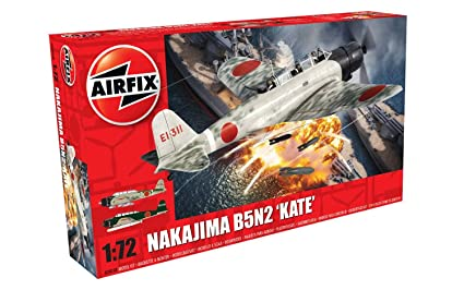 Airfix - Ai04058 - Nakajima B5n2 - Kate - 107 Pièces - Échelle 1/72