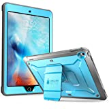 SUPCASE iPad9.7 Case 2018/2017,HeavyDuty[UnicornBeetlePROSeries]Full-bodyRuggedProtectiveCasewithBuilt-inScreenProtector&DualLayerDesignforAppleiPad9.7inch2017/2018 (Blue) (Color: Blue/Black)
