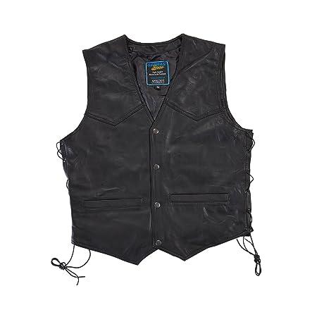 Germas 482.01-M54 XL en cuir Nappa-Premiumleder-Man taille XL :  noir
