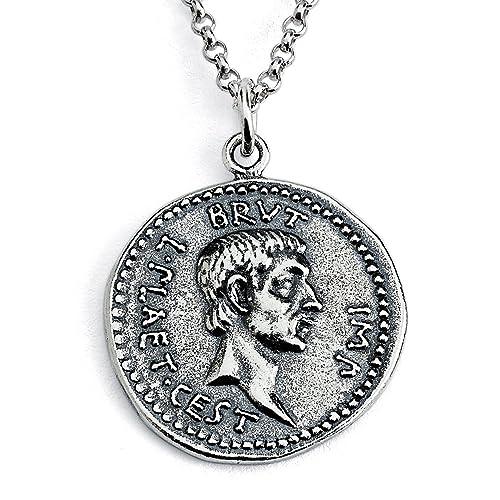 Brutus Roman Coin Pendant