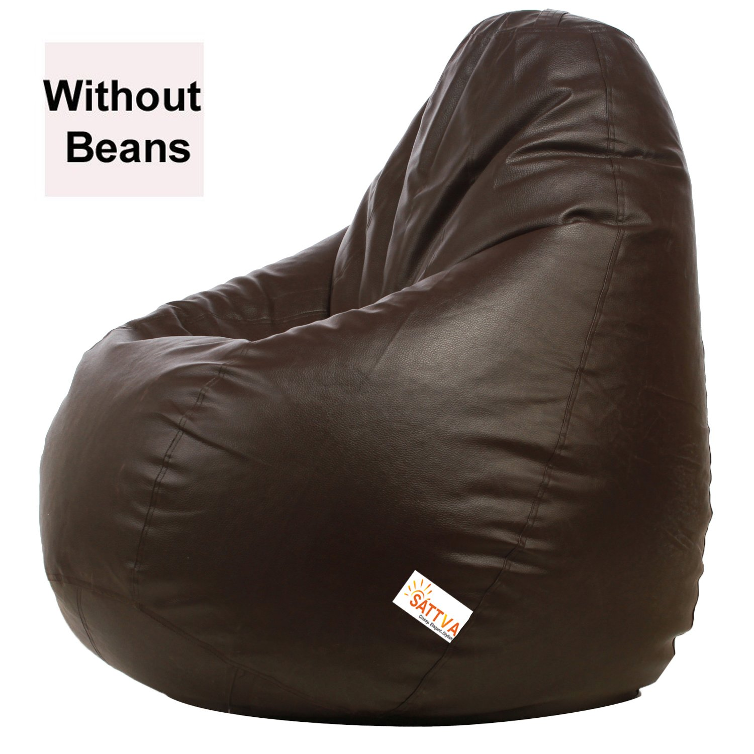 Sattva Xxl Brown Bean Bag Cover Online At Amazon Upto 70