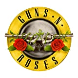 Guns N Roses OriginalStickers0357 Set Of Two (2x) Stickers , Laptop , Ipad , Car , Truck , Size 4 inches on Longer Side