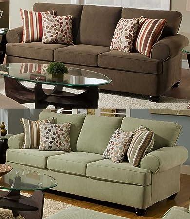 Simmons Upholstery 3095 Farley Sofa Mink