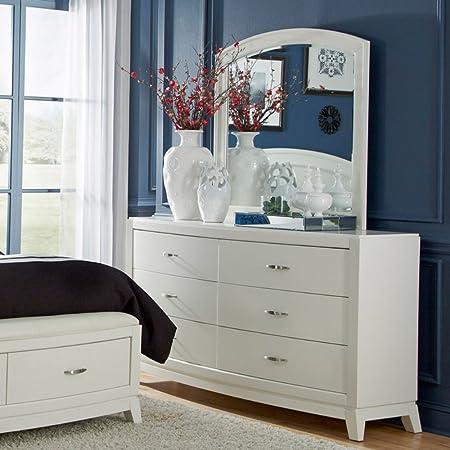 Avalon II 6 Drawer Dresser - Truffle