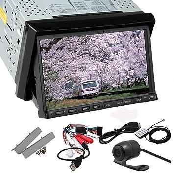 En el tablero de WIN 8 UI GPS Subwoofer navegaciš®n del coche Lecteur DVD con 7 pulgadas d'šŠcran tš¢ctil de Vehšªculos Logo IPod Coche Bluetooth Auto construido en el intšŠrieur Mic VCD y Sou