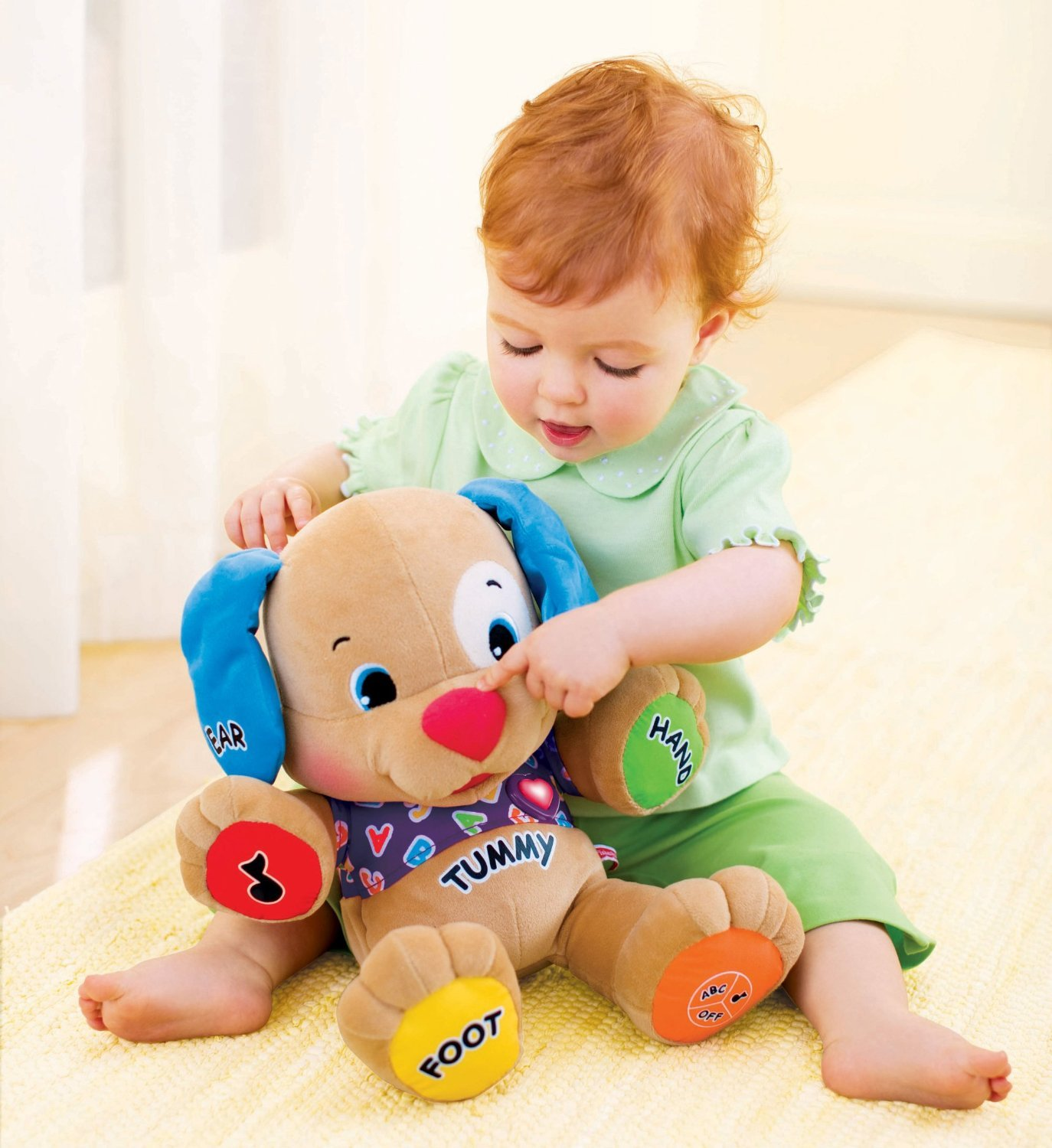 Fisher-Price Laugh and Learn Love to Play Puppy