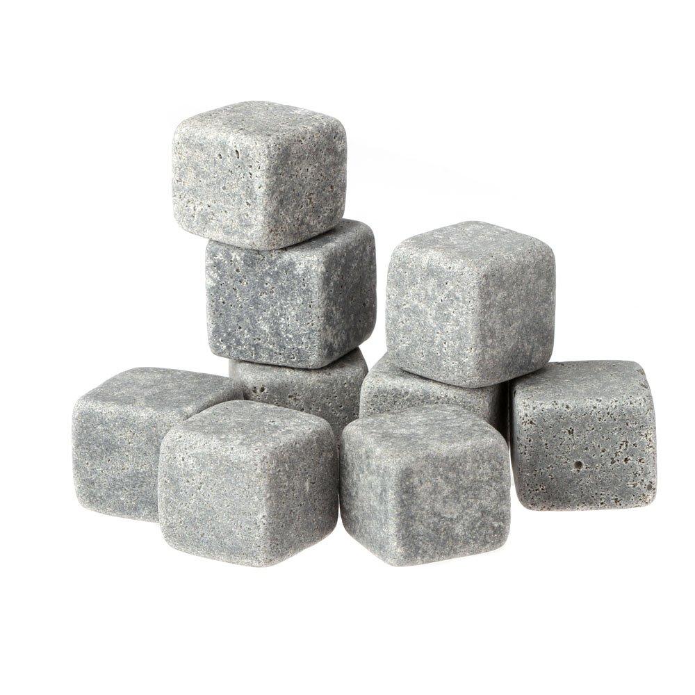 Anself 9 Whisky Cubitos de piedra con muselina bolsa de almacenamiento   revisión y más información