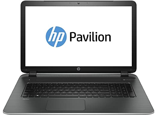 2015 Newest Model HP Pavilion 17.3-inch LaptopLatest AMD Quad-Core A10-4655M Processor up to 2.8GHz 4MB Cache, 6GB DDR3L Memory, 500GB HDD, 1600 x 900 HD WLED display, DVDRW/CD-RW, Webcam, Bluetooth, USB 3.0, HDMI, Windows 8.1 64-bit free upgrade to Windows 10 when it launches - Silver