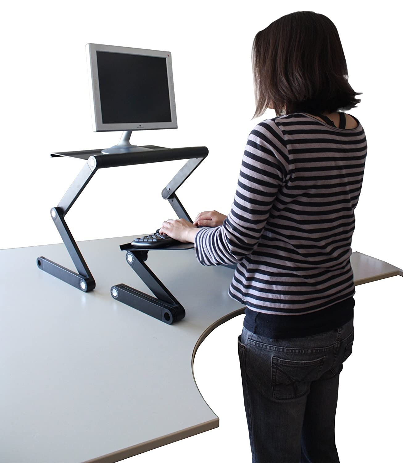 Workez Standing Desk Conversion Kit Adjustable Ergonomic