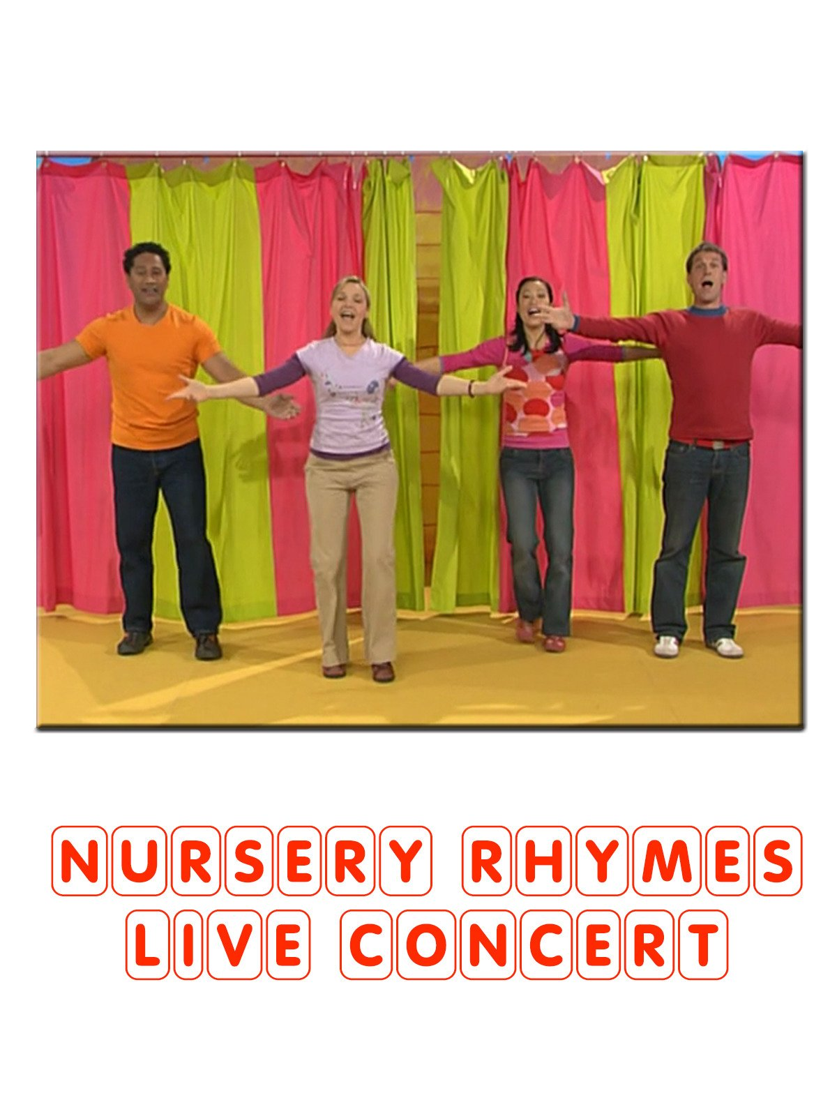 Nursery Rhymes Live Concert on Amazon Prime Instant Video UK