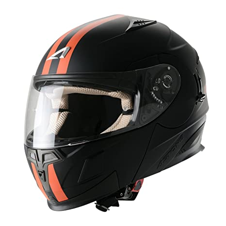 Astone Helmets RT1000GEX-ORXL Casque Modulable RT1000 Orange Taille XL