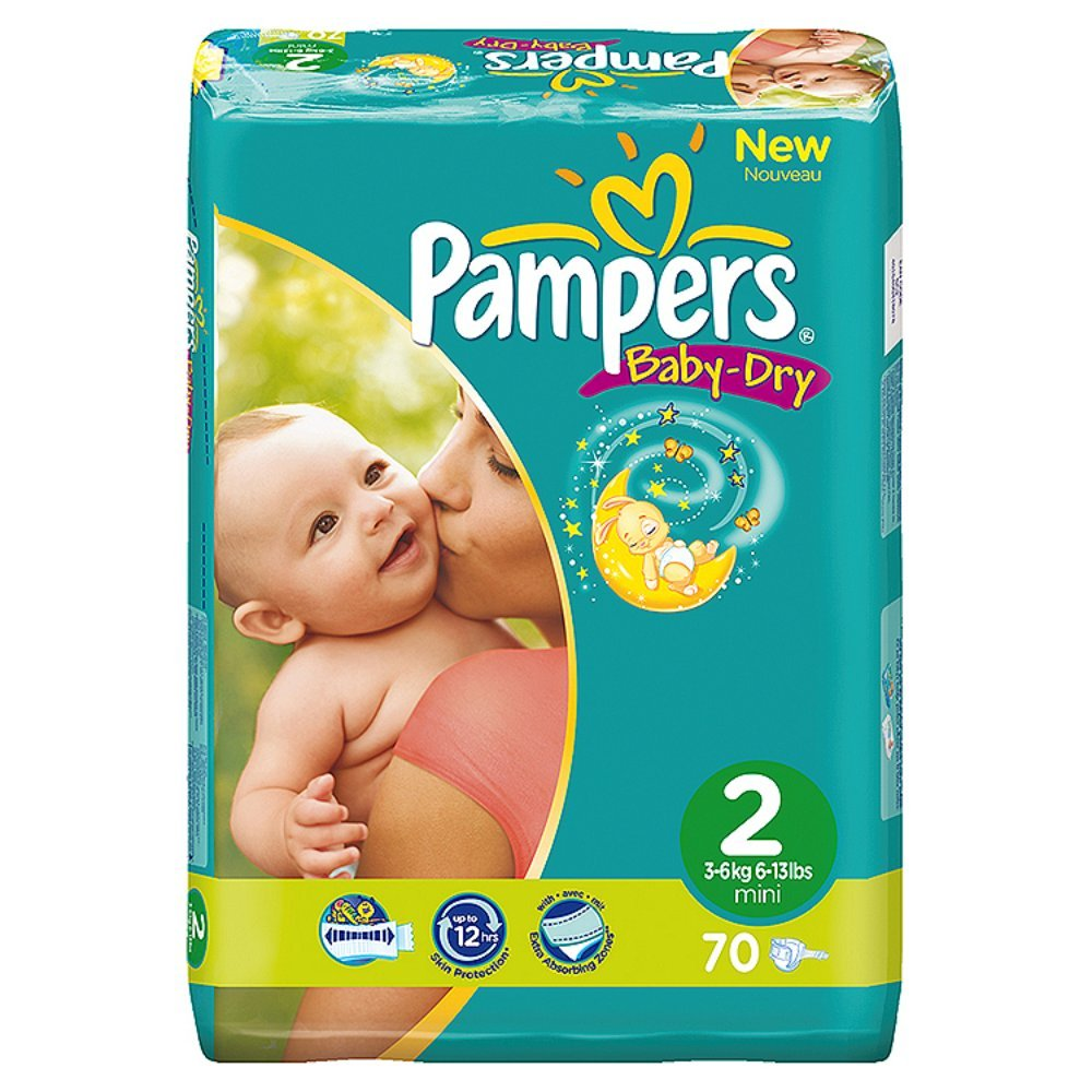 Pampers baby dry taille - Achat couches pampers en gros pas cher ...