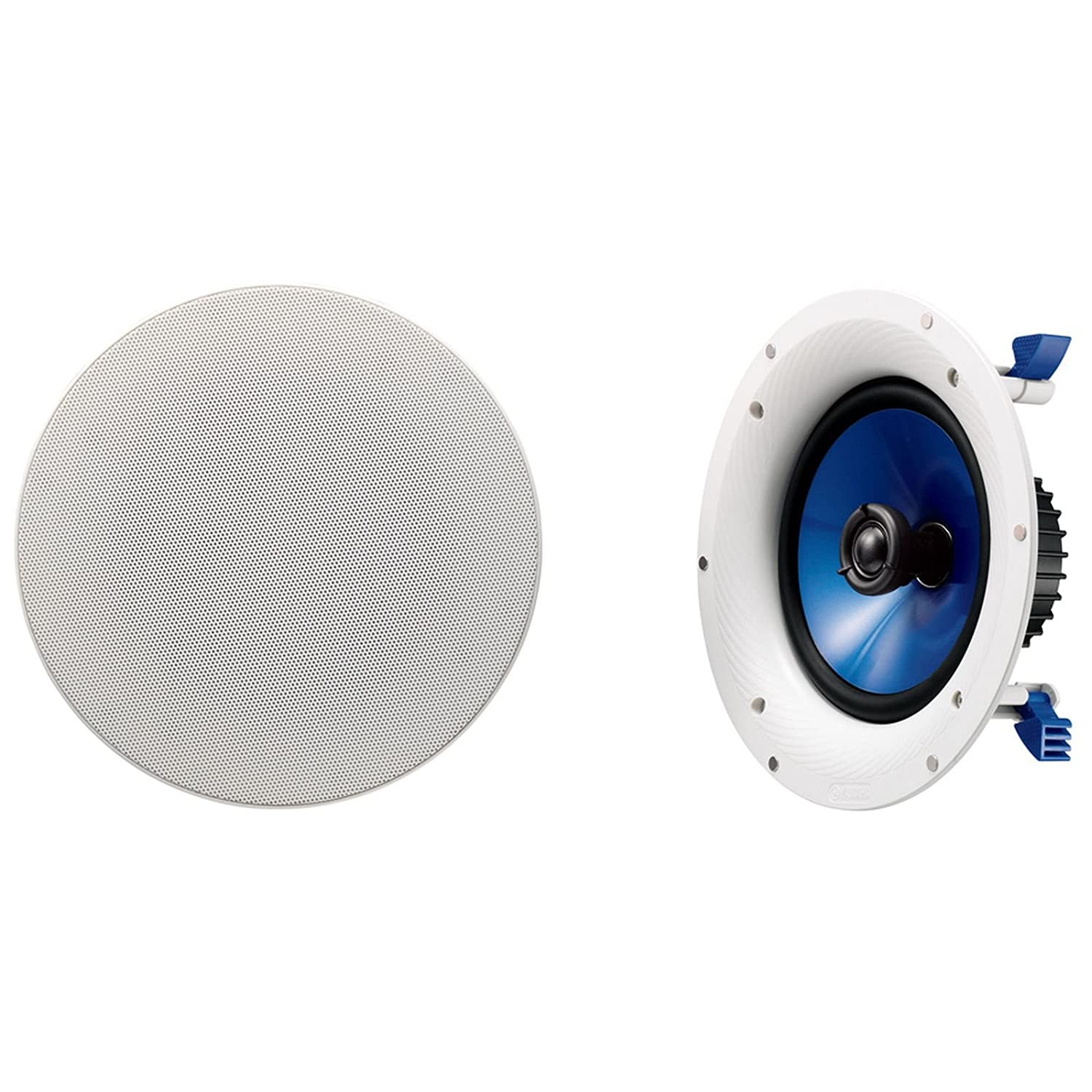 Waterproof ceiling speakers for bathroom -  4 Yamaha Nsic800wh 140 Watts Bluetooth Ceiling Speakers