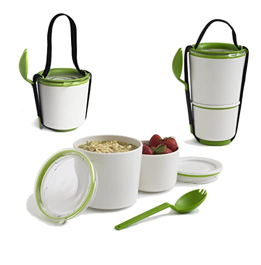 Amazon.com: Black+Blum Lunch Pot (Green): Lunch Boxes: Kitchen & Dining