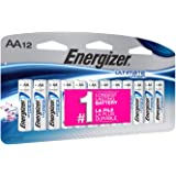 Energizer Ultimate Lithium AA Batteries, 12 Pack (Tamaño: 12 Count)