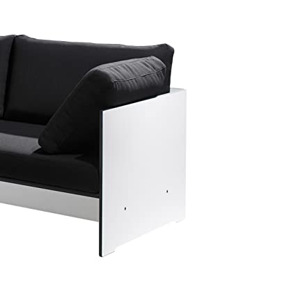 Riva Lounge Armlehne fur Sofa - weiß