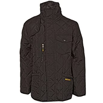 Boys Sonneti Junior Boys Pack Quilted Jacket in Black S