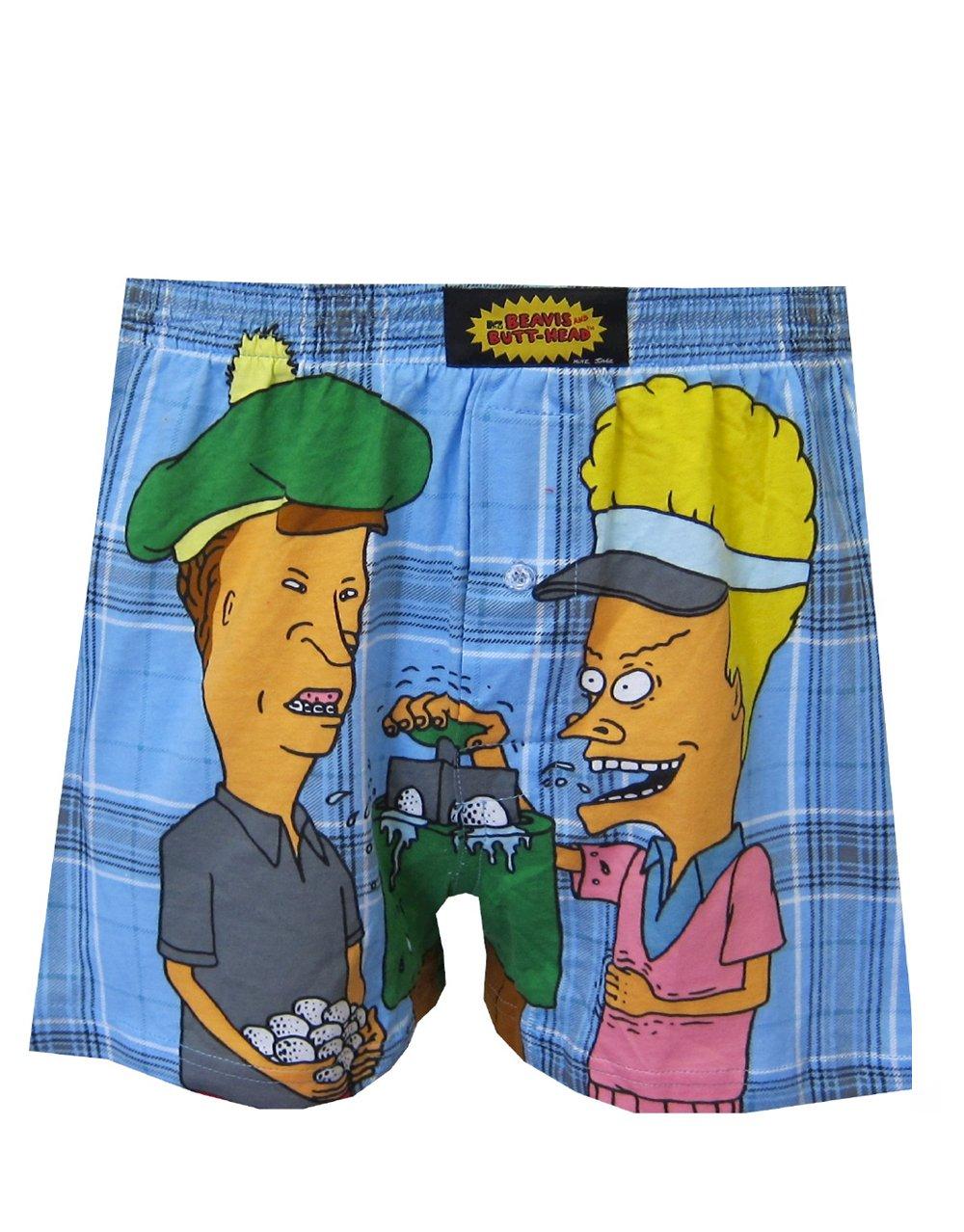 Men\'s Beavis & Butt-Head Boxer Lounge Pants MTV\'s Beavis & Butt Head ...