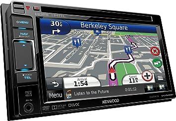 Kenwood DNX5250BT GPS Système de Navigation + Ecran Rétractable Europe Fixe, 16:9