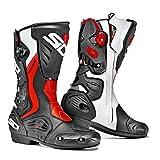Sidi Roarr Boots (FLO RED/WHITE) (Color: Black/Red Flo/White, Tamaño: 46)