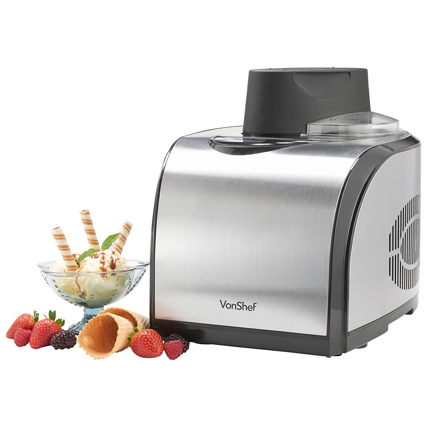 VonShef Professional: An Automatic Ice Cream Maker - The Smart Choice