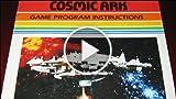 Classic Game Room - COSMIC ARK For Atari 2600 Review...
