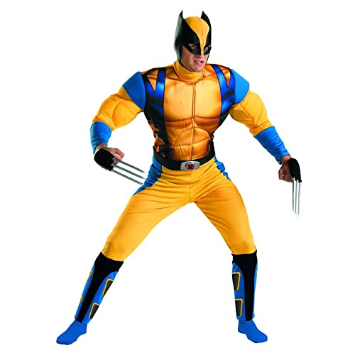 Disguise Marvel The Wolverine Classic Muscle Mens Adult Costume
