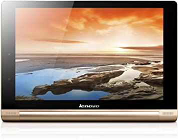 LenovoYoga 10 HD+ 25.6 cm (10,1'') Tablette Tactile (Qualcomm Snapdragon APQ8028, 1,6GHz, 2Go RAM, 16Go eMMC, Ecran tactile, Android 4.3, FHD IPS) champagne Or (special edition) (Import Europe)