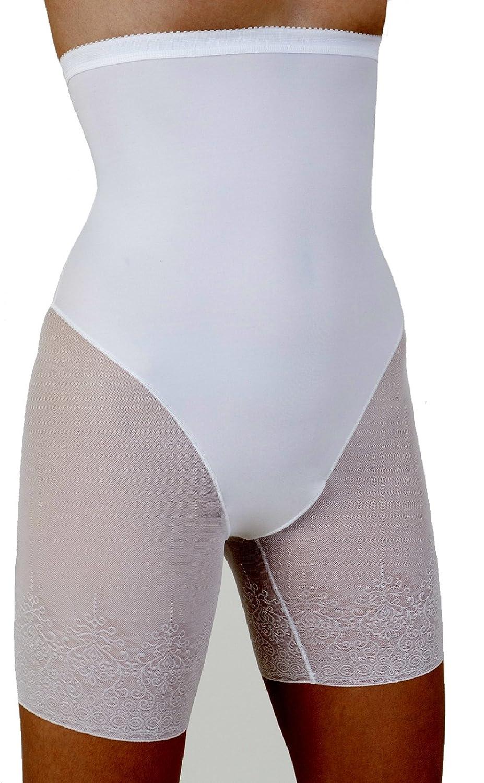 Figurformender Langbein Miederpant mit Spitze Miederhose Bauchweg-Formslip Taillenslip Controll-Shaper Slim-Slip formt und stützt mit Bauchweg-Effekt bestellen