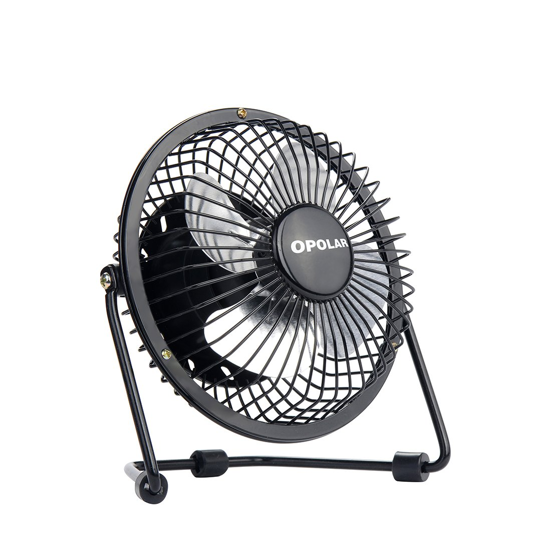 New Usb Table Desk Personal Fan Metal Design Quiet Sturdy