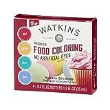 Watkins Food Coloring (Color: Assorted, Tamaño: 1 Count)