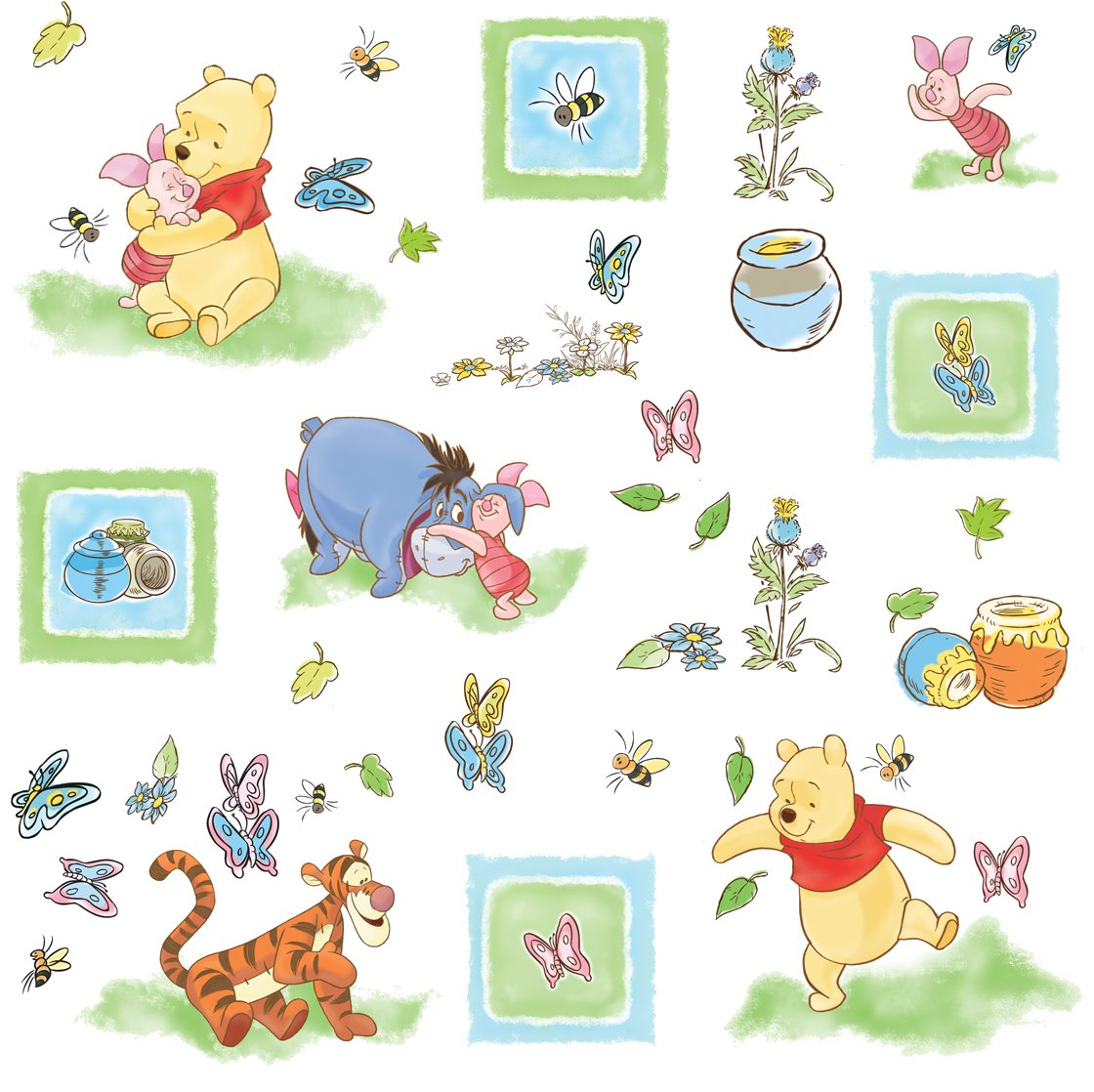 Winnie The Pooh Wall Decals Part 71