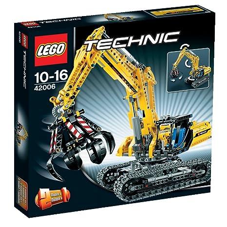Lego Technic - 42006 - Jeu de Construction - La Pelleteuse