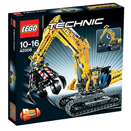 LEGO Technic - 42006 - Jeu de Construction - La Pelleteuse