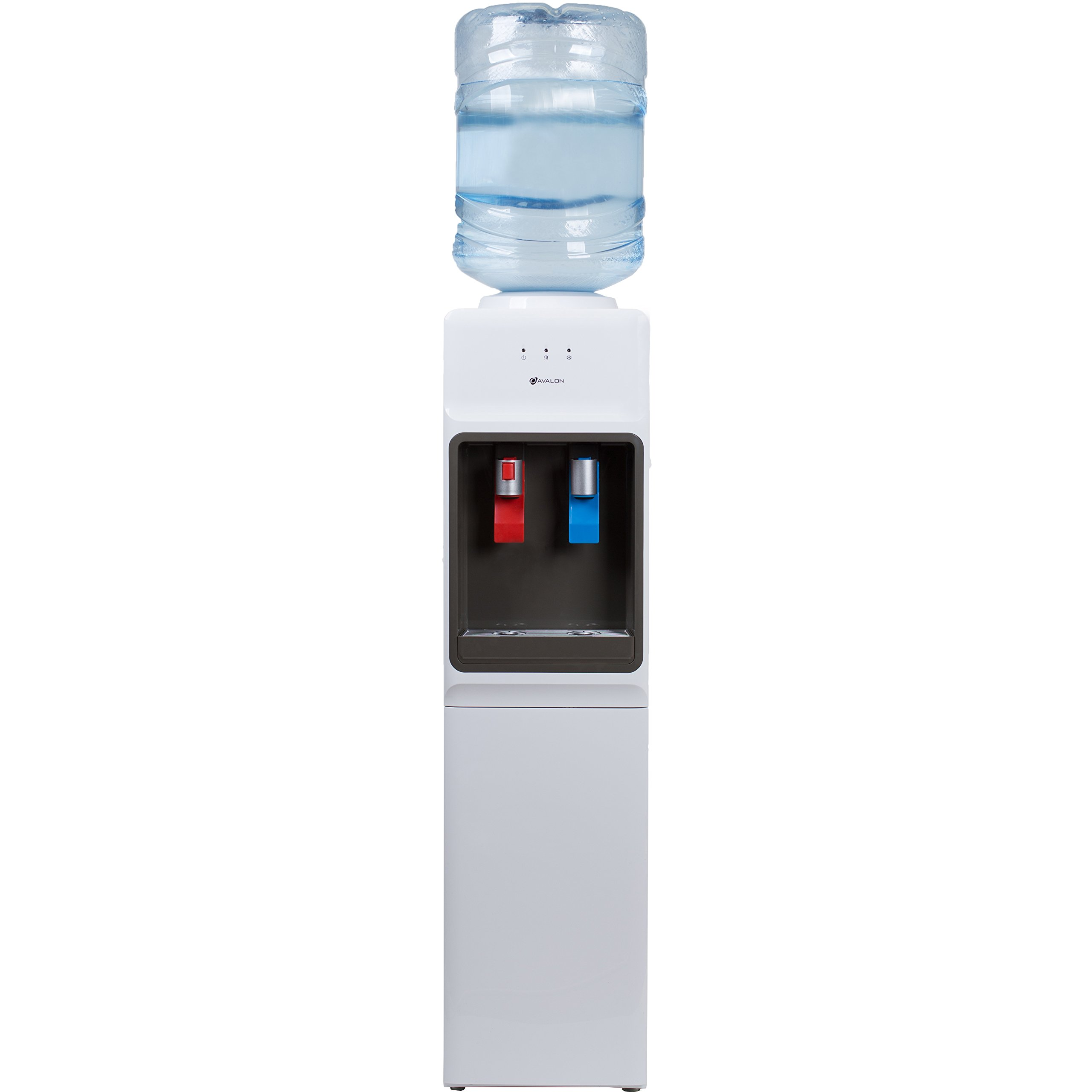 water cooler with machine