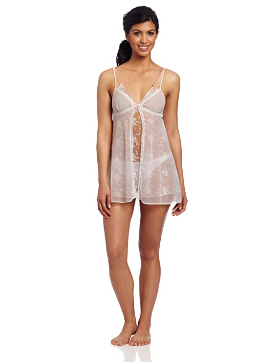 Betsey Johnson Women's All Over Lace And Tricot Slip