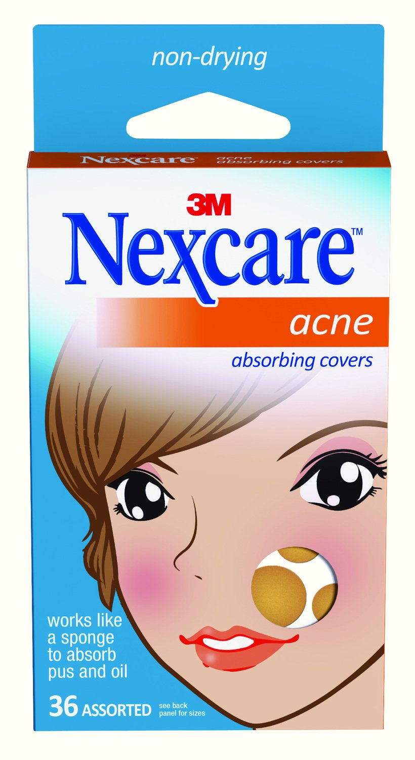Buy Nexcare Acne Absorbing Cover Now!