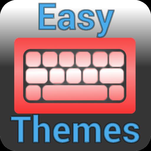 Bubble Pink Easy Keyboard Theme